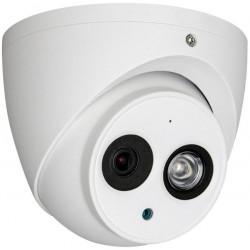 Kамера Dahua HAC-HDW1200EM-A-POC-0280B-S4, 2MP, Eyeball, HDCVI, 1080p, 2,8мм, ден/нощ 50м.,IP67, PoC, DC12V